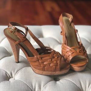 Shoes - Brown Heels